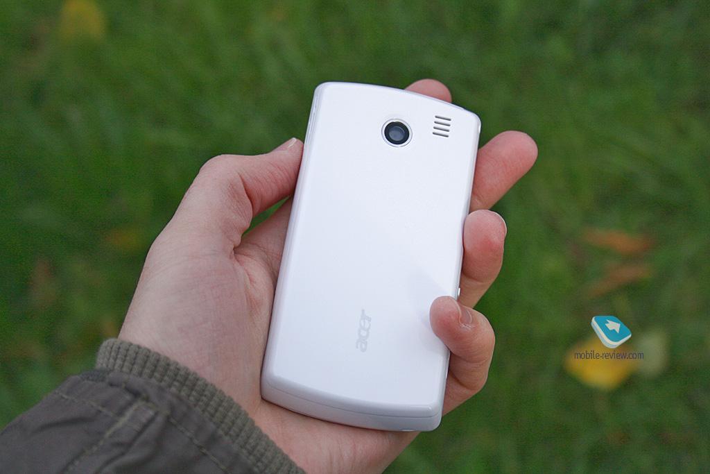 Обзор GSM-коммуникатора Acer