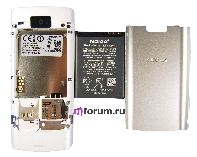 Тачскрин nokia x3-02 (цвет: черный) оригинал china - nokia - touchscreens (тачскрины) для сотовых телефонов и кпк