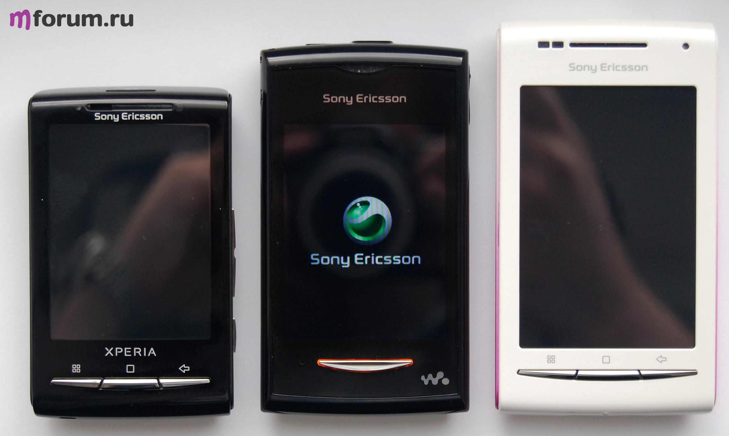Программный ремонт телефонов sony ericsson платформы pda