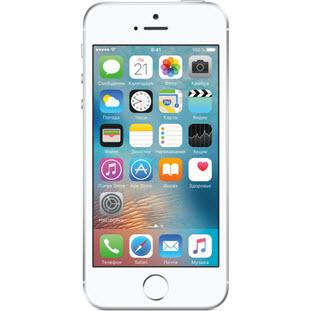 Фотография мобильного телефона Apple iPhone SE (16Gb, silver, A1723)