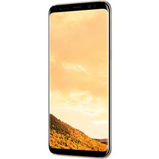 Фотография мобильного телефона Samsung Galaxy S8 (maple gold)
