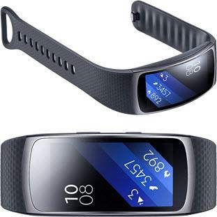 Фитнес-браслет Samsung Gear Fit 2 (SM-R3600DAASER) - фото 4