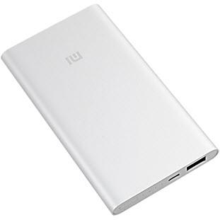 Фотография универсального внешнего аккумулятора Xiaomi Mi Power Bank (5000 мАч, silver)