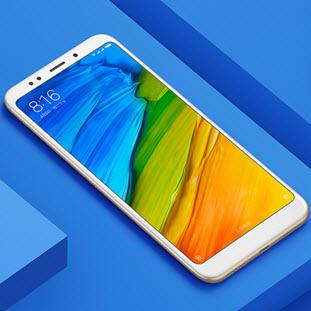 Фотография мобильного телефона Xiaomi Redmi 5 Plus (4/64Gb, gold)