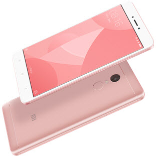 Фотография мобильного телефона Xiaomi Redmi Note 4X (32Gb+3Gb, pink)