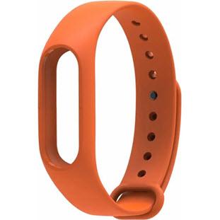 Фотография ремешка Xiaomi Silicone для Mi Band 2 (orange)