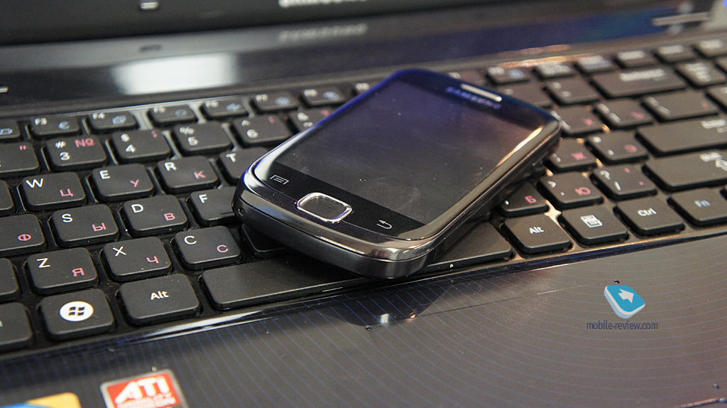 Обзор UMTS/GSM-телефона Samsung Galaxy Fit (S5670) MobilMarket.ru